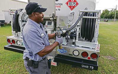 To build a workforce of the future, propane marketers must promote employment in the industry as a desirable career option. Photo courtesy of Westmor.