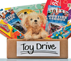 Your business can get involved by either hosting a Toys for Tots event or becoming a toy drop site. Photo: iStock.com/CatLane