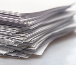 Paper stack paperwork, Photo: iStock.com/artisteer