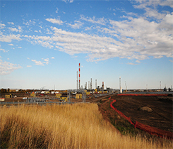 Photo of Pembina's Redwater fractionation and storage facility courtesy of Pembina