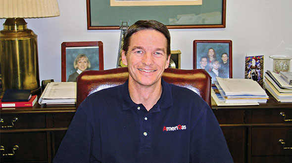 Lugar joined AmeriGas in 2000 as director of supply, logistics and wholesale. Photo courtesy of AmeriGas