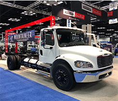 S2G 8.8L propane autogas fueled chassis image courtesy of Freightliner Custom Chassis Corp.