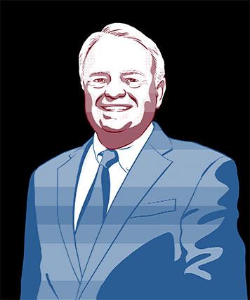 Headshot Illustration: Ray Murray III