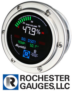 Magnetel electronic dial. Photo courtesy of Rochester Gauges LLC
