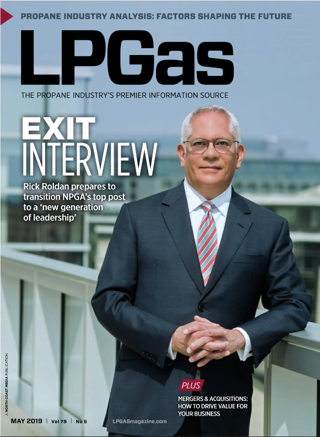 LP Gas May 2019 Cover (Photo: Rodney Choice, choicephotography.com)