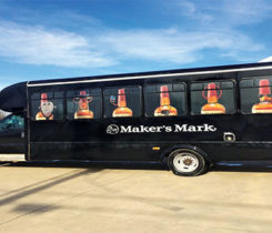 Maker's Mark is a top-shelf purveyor of fine Kentucky bourbon sold in a distinctive squarish bottle hand-sealed in bright red wax. Photo courtesy of Maker's Mark.