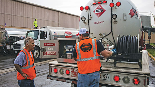 A Virginia-based fuel provider extends its reach into natural disaster zones during relief efforts.
