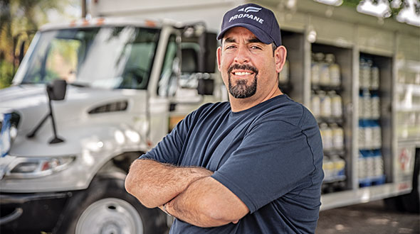 Many of the approved programs target drivers and service technicians. Photo courtesy of the Propane Education & Research Council