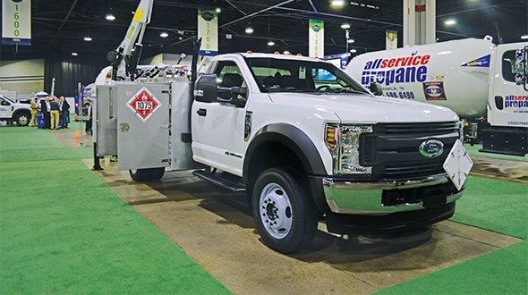 Converting your fleet to run on propane autogas saves money and time for your drivers. Photo by Allison Barwacz