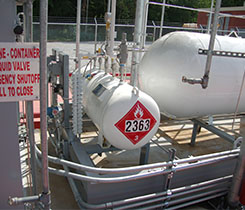Photo courtesy of Superior Energy Systems _ mercaptan odorant skid