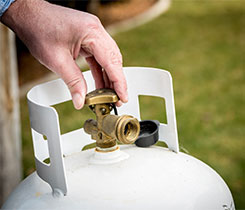 The proposed rule will focus on how often propane marketers must qualify, or verify, the condition of cylinders after applying hydrostatic testing. Photo: iStock.com/knowlesgallery