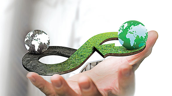 A circular economy uses resources efficiently and minimizes waste. Photo: iStock.com/BsWei