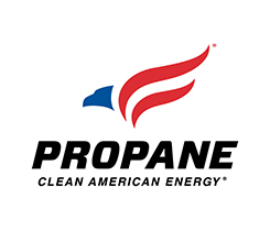 Propane Clean American Energy logo courtesy of the Propane Education & Research Council