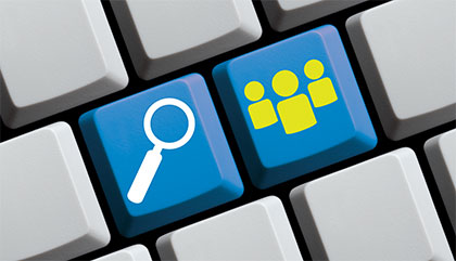 Social networks provide an opportunity to find more passive candidates who may not be applying to your open job postings. Photo: iStock.com/keport