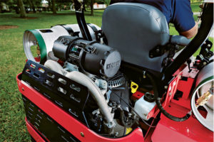 Electronic fuel injection propane engines precisely monitor fuel based on operating conditions like air quality and temperature. Photo Courtesy of Kohler Engines