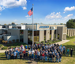 RegO's Whitsett, North Carolina, facility will see an expansion that includes improvements to its machining work centers. Photo courtesy of RegO