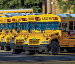 Propane has secured more than $35 million for school bus projects. Photo courtesy of the Propane Education & Research Council