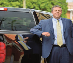 Hoffman's first professional experience with propane and autogas was in 2010. Photo courtesy of Blossman Gas
