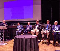 From left, Michael Hopsicker, Joseph Armentano, Stephen Kossuth, March Schoone, Bill Anderson and Tom Knauff. Photo courtesy of Roger Rosenbaum.