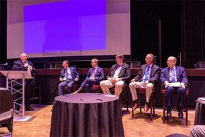 From left, Michael Hopsicker, Joseph Armentano, Stephen Kossuth, March Schoone, Bill Anderson and Tom Knauff. Photo courtesy of Roger Rosenbaum
