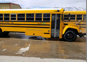 Photo courtesy of Roush CleanTech _ propane buses