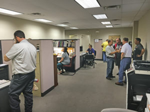 Some distributors build personal connections across propane industry segments by holding their own open houses. photo courtesy of Bergquist