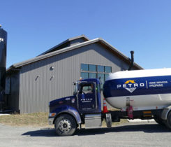 Petro Home Services has been delivering propane to Vale Fox Distillery, buying its hand sanitizers and donating them to health care workers during the coronavirus. Photo by Roger Rosenbaum