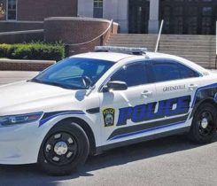Greeneville has converted 13 police Ford sedans to run on autogas. Photo courtesy of Alliance AutoGas