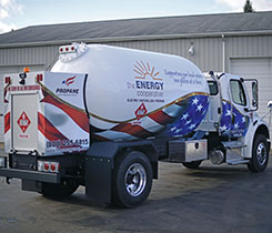 Photo courtesy of Industrial Propane Service