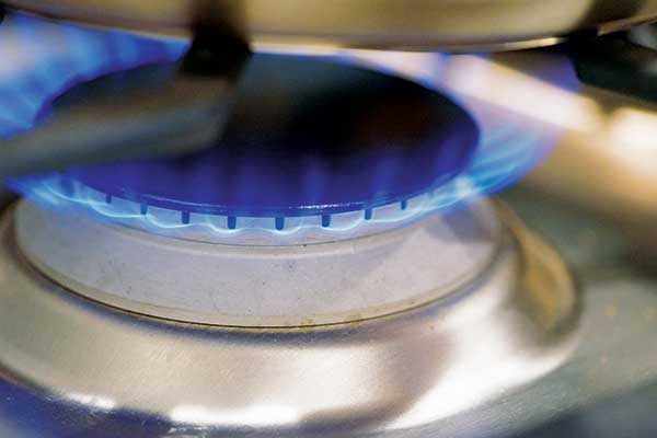 Blue propane flame Photo: Getty Images: fusaromike/iStock / Getty Images Plus