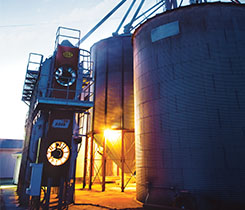 Many grain dryer operators prefer propane. Photo courtesy of Swanson Russell