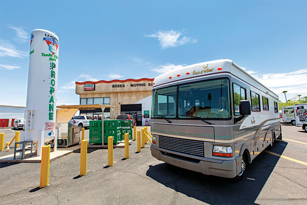 Propane retailers can expect to serve more RV customers this summer. Photo courtesy of U-Haul