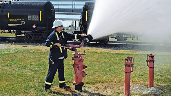 Train your employees on how to respond in an emergency. Photo by LP Gas staff