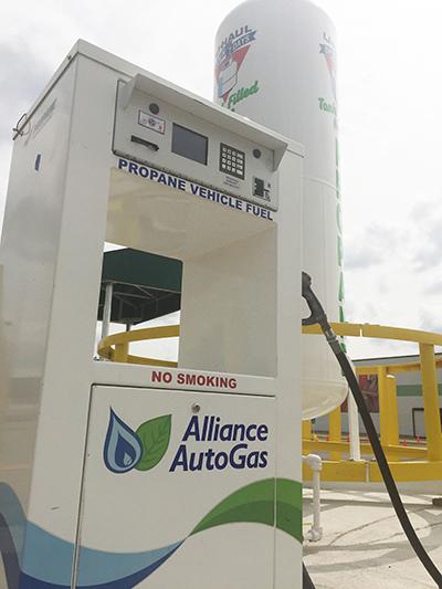 Photo: Blossman Gas & Alliance AutoGas