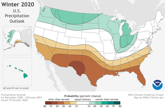 Map by NOAA Climate.gov, using data from NOAA's Climate Prediction Center.