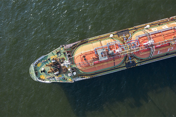 LPG ship photo: think4photop/iStock / Getty Images Plus/Getty Images