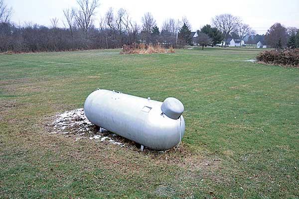 tanks Photo: LP Gas