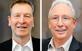 Martin Adams and Robert Barnacle headshots