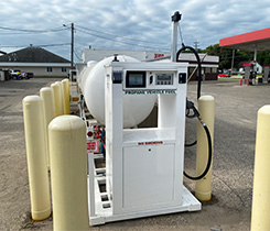 Autogas dispenser photo courtesy of Superior Energy Systems