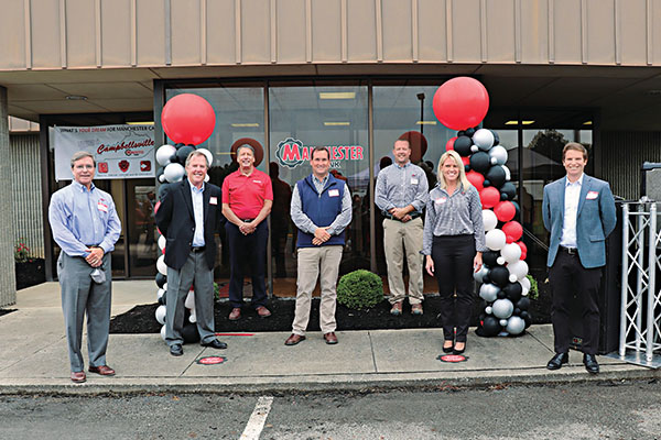 Manchester Tank celebrated the opening of a new facility in Campbellsville, Kentucky. Photo courtesy of Beth Jones McCubbin Photography