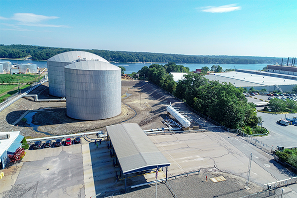 Photo of Blackline LPG storage facility courtesy of Nearview