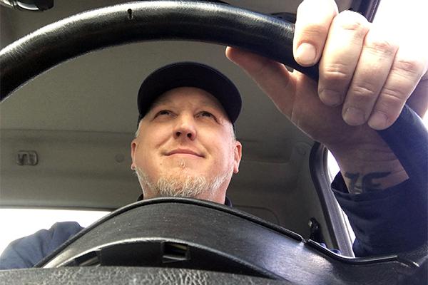 Propane driver photo by Roger Rosenbaum/Brand-News-Team