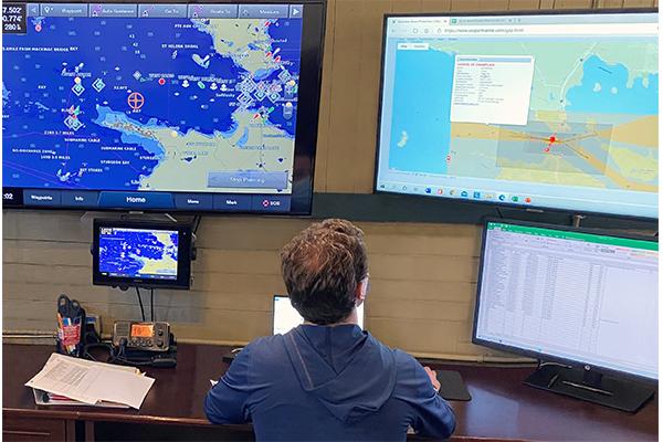 Enbridge Straits Maritime Operations Center photo courtesy of Enbridge