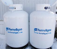 Ferrellgas tanks photo by LP Gas staff