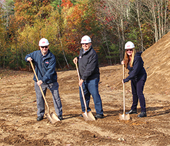 Groundbreaking photo courtesy of Palmer Gas & Oil