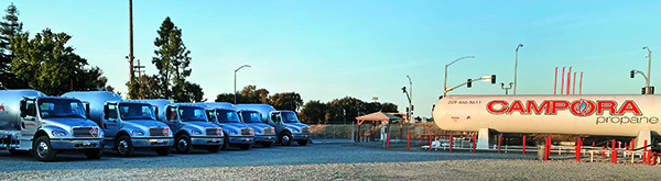Campora Propane, a 75-year-old marketer with 10 locations across northern and central California and Nevada, sold to Energy Distribution Partners in late 2020. Photo by EDP employee