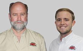 Headshots: Todd Meyer (left), Cody Patrick