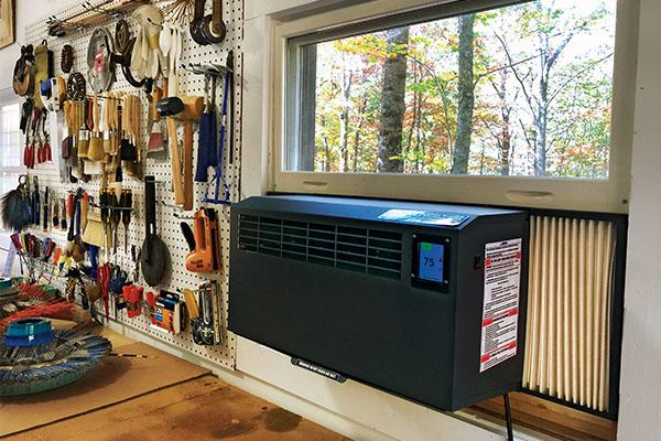 Photo courtesy of Warm Front _ window heater