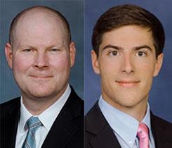 Headshots: Corbett (left), Tipping