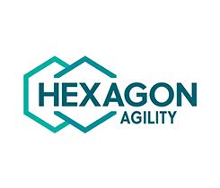 Hexagon Agility logo